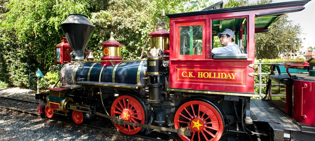 Disneyland Christmas Train idea…