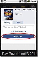 Facebook Check In to Movies and TV Shows