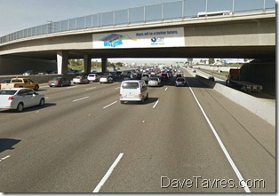 Freeway advertising - www.DaveTavres.com