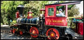 Disneyland Railroad #1 C. K. Holliday on www.DaveTavres.com