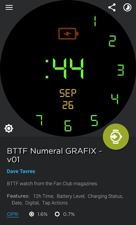 BTTF Numeral GRAFIX - v01 | DaveTavres.com