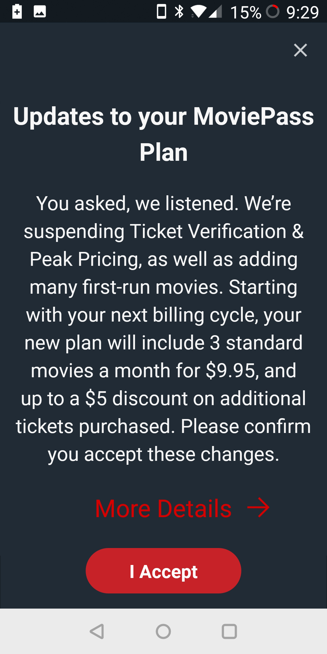 MoviePass changes | DaveTavres.com
