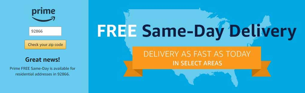"False ""Same-Day Delivery"" ""Guarantee"" 