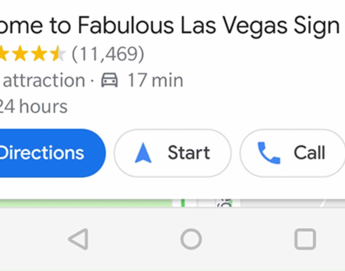 Google Maps Tip – Start directions