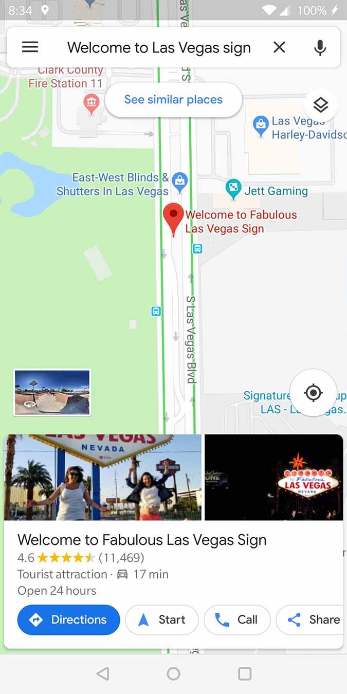 Google Maps Tip - Start directions | DaveTavres.com