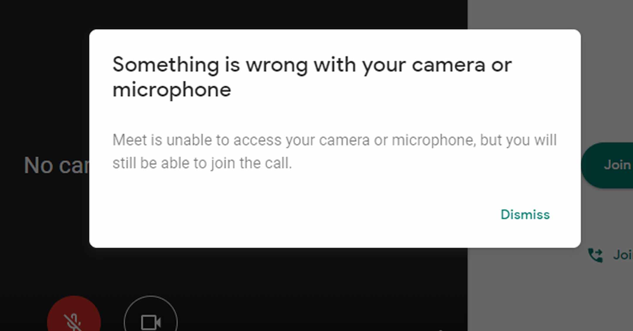 Google Meet Blocked Microphone - 1 | Tavres.com