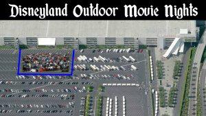 Disneyland Outdoor Movie Night | DaveTavres.com
