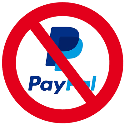 You Can't Use PayPal Anymore, or, How to Kill a Small Business