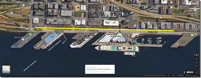 Proposed Seattle Waterfront Handcar route - DaveTavres.com