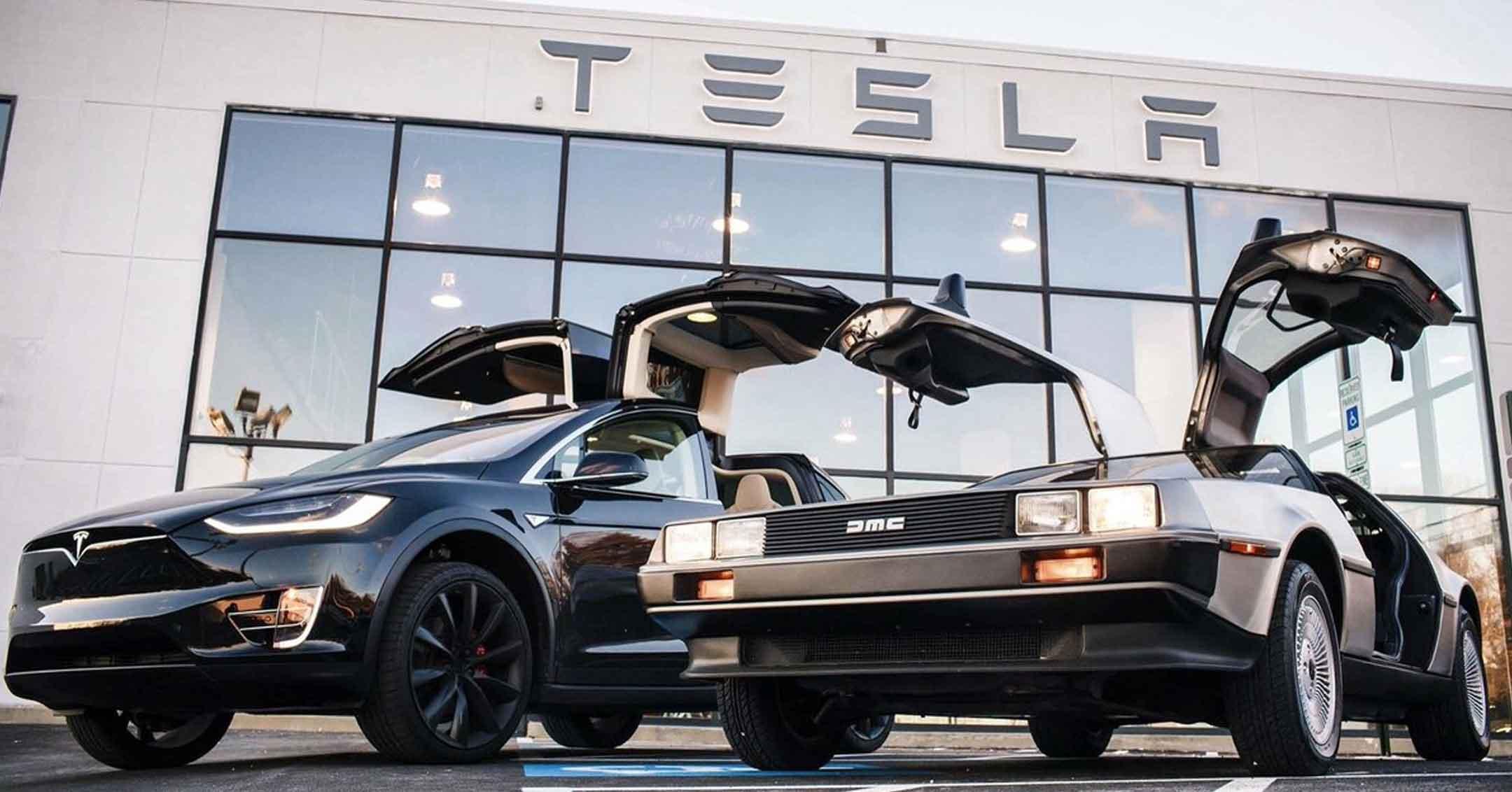 Tesla and DeLorean | DaveTavres.com