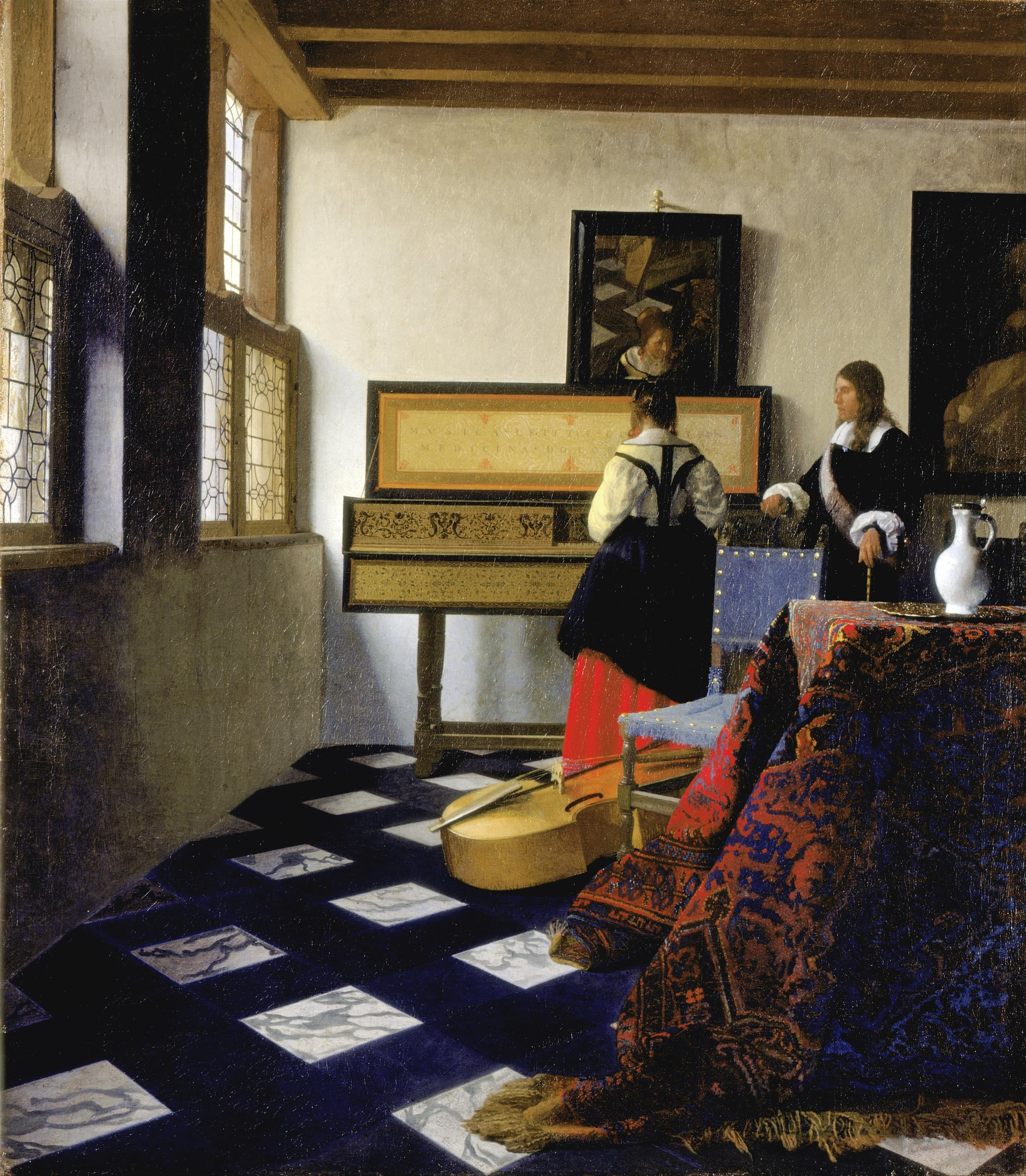 """Fascinating Must-watch Tim's Vermeer; """"The Music Lesson""""   Tavres.com"""