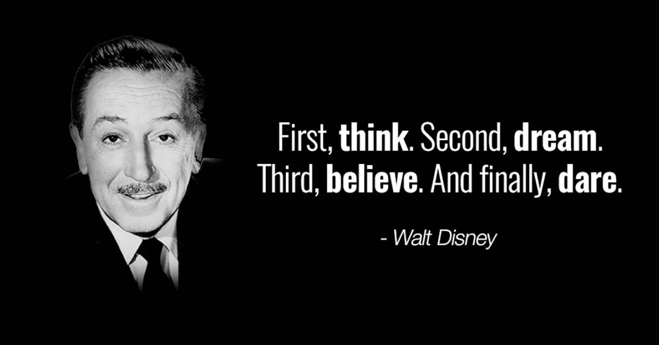 Walt Disney - Dare | DaveTavres.com