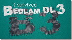 Microsoft memories... Bedlam DL3