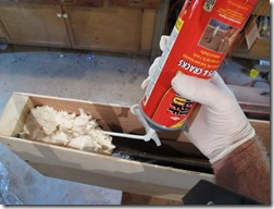 Non-lethal take-down tool... expanding foam - DaveTavres.com